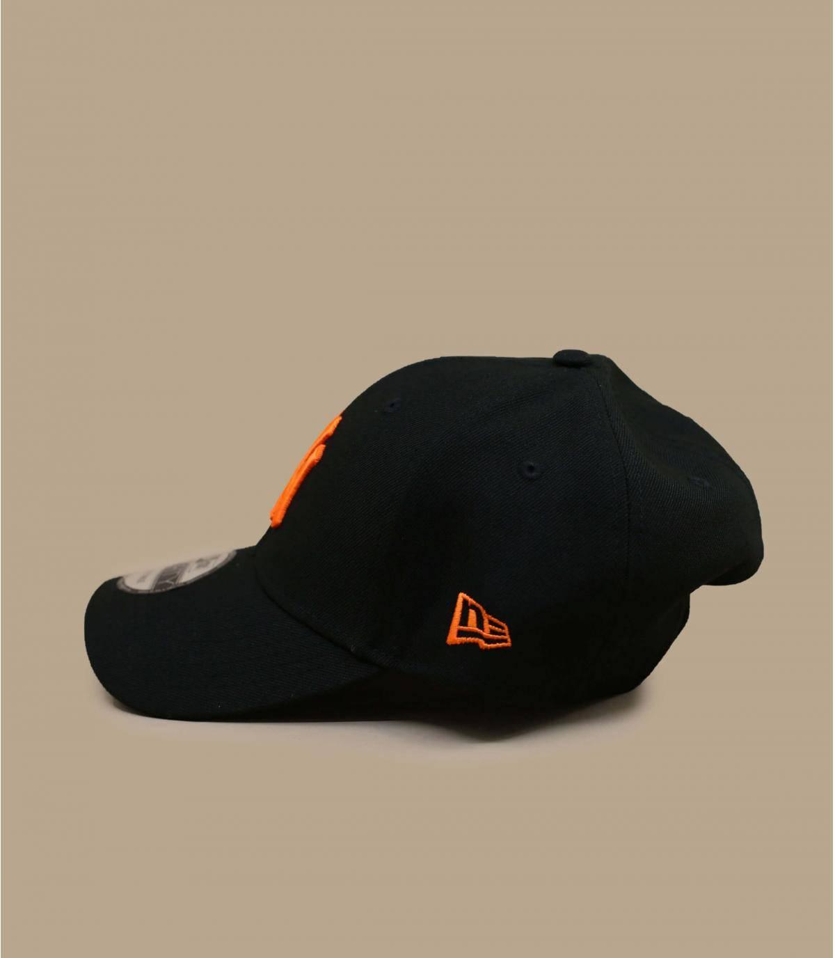 Details Pop Logo 940 NY black orange - afbeeling 3