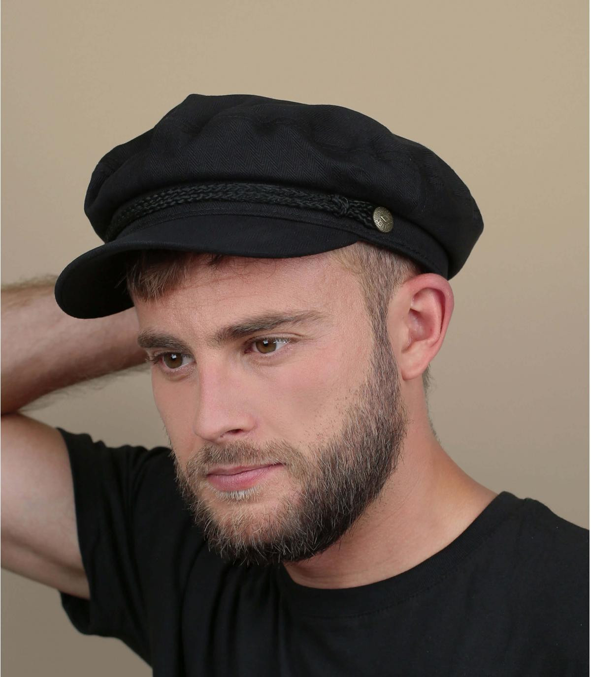 cap marine zwart
