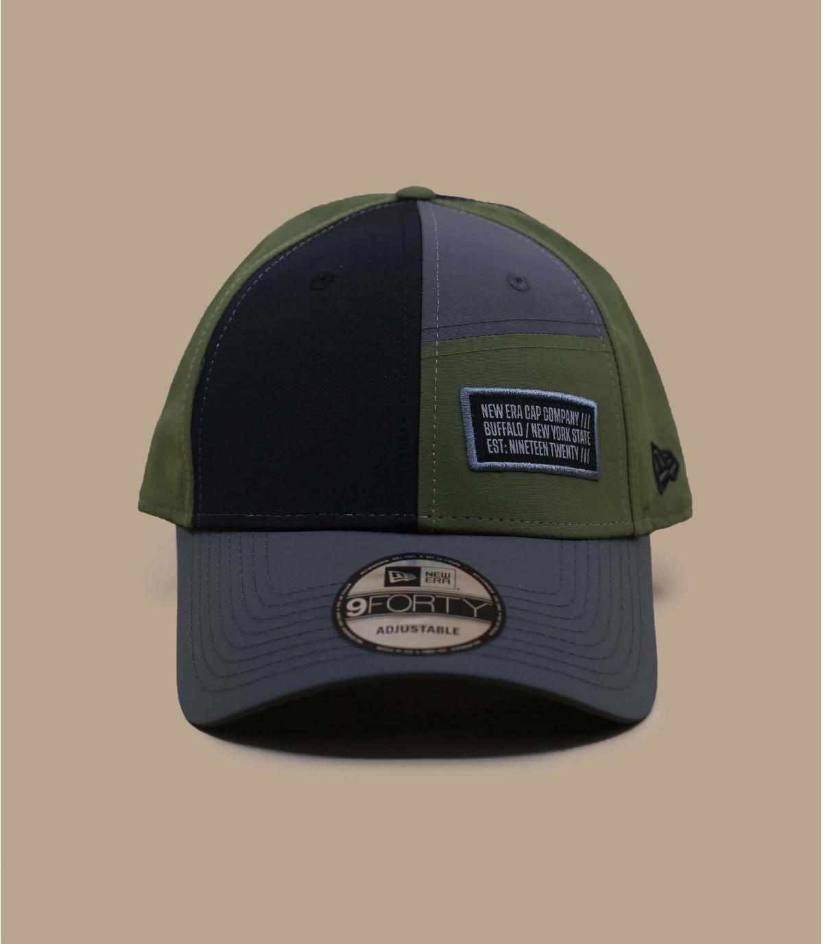 tweekleurige New Era-cap