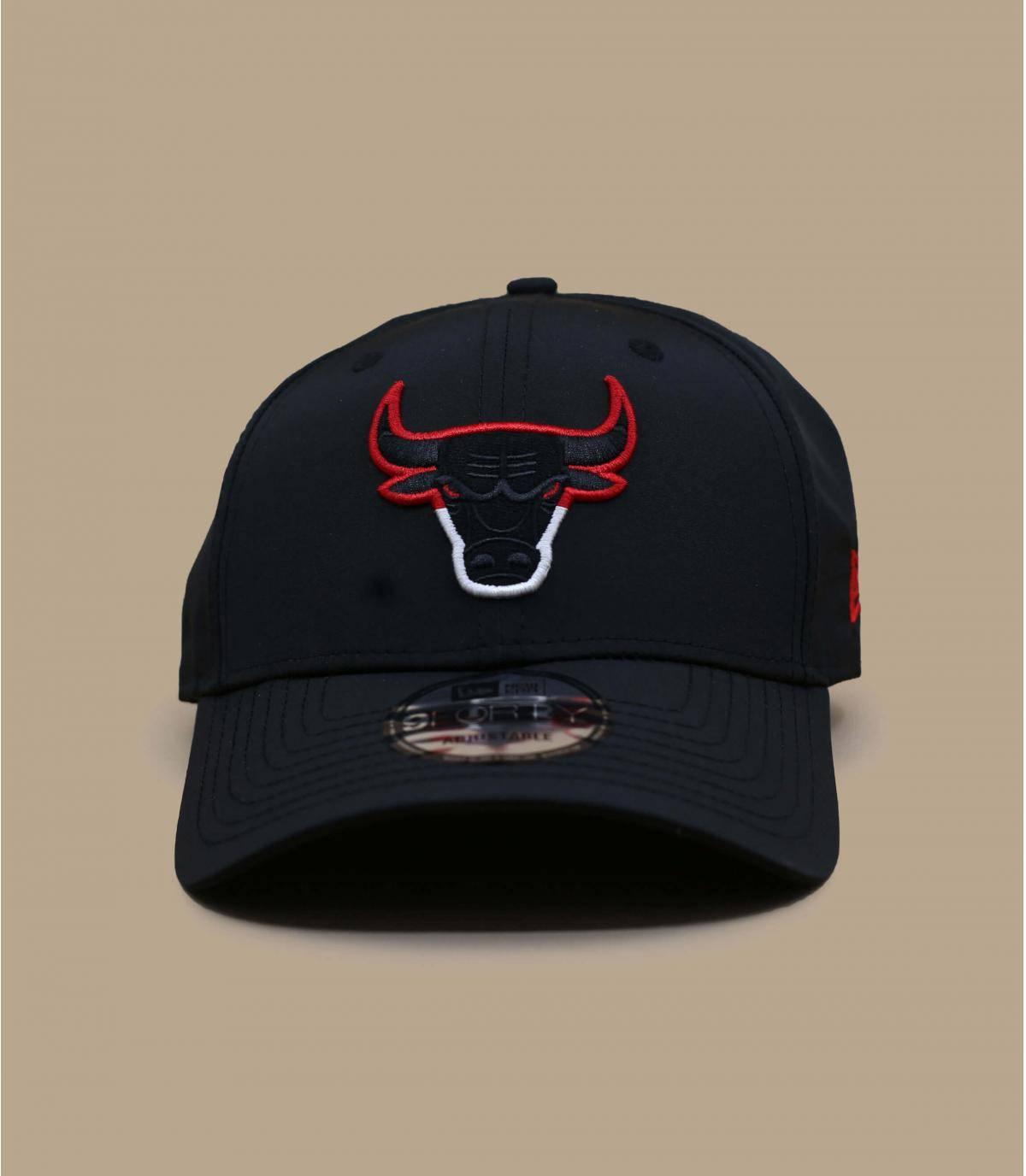 zwarte Bulls cap