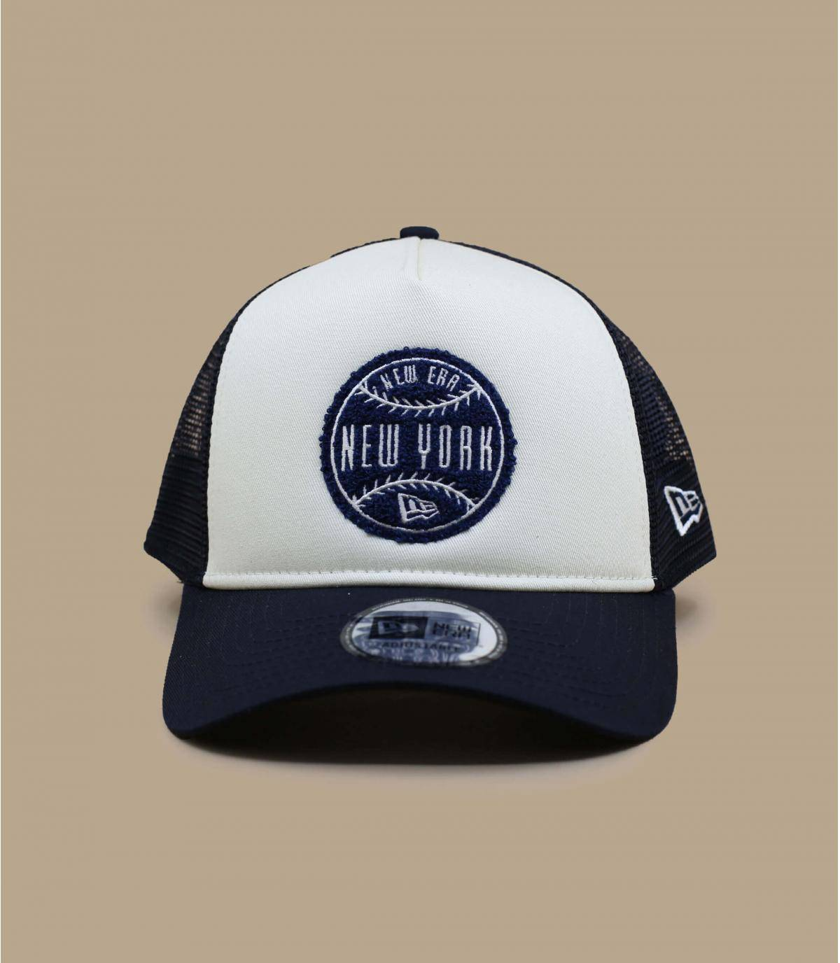 Details Trucker Circle Patch navy - afbeeling 2
