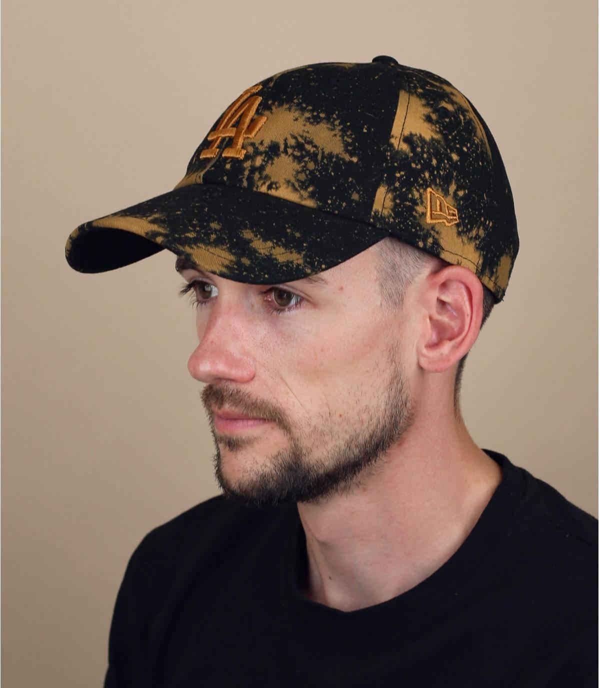 zwarte LA cap