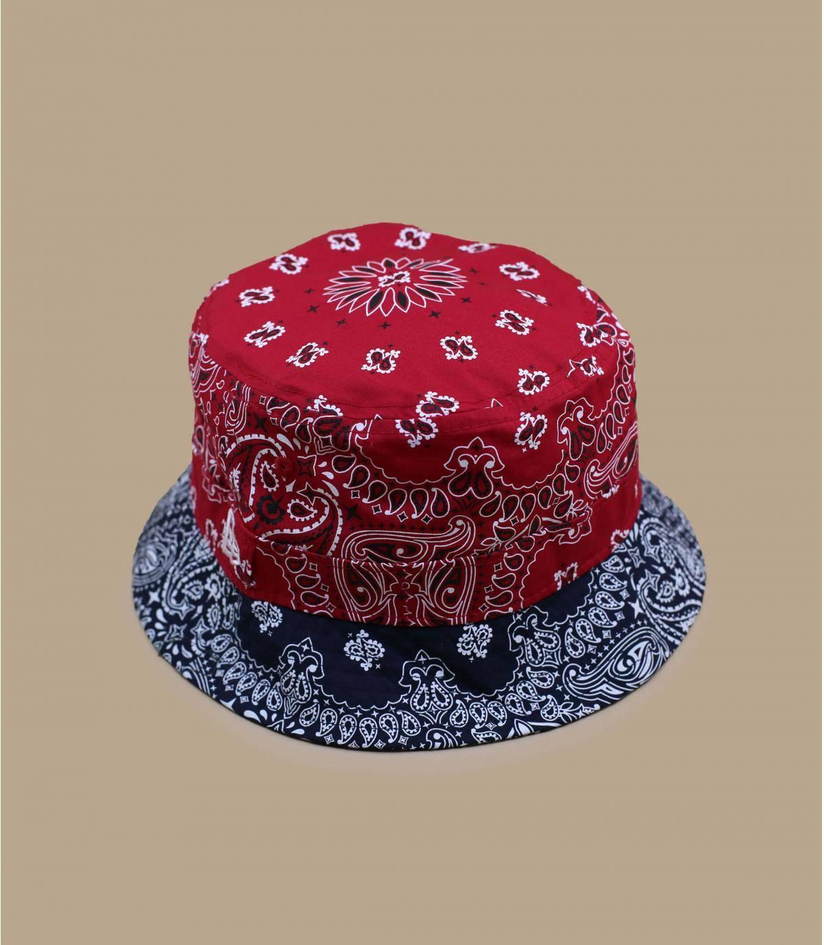 Details Bucket Paisley scarlet - afbeeling 2