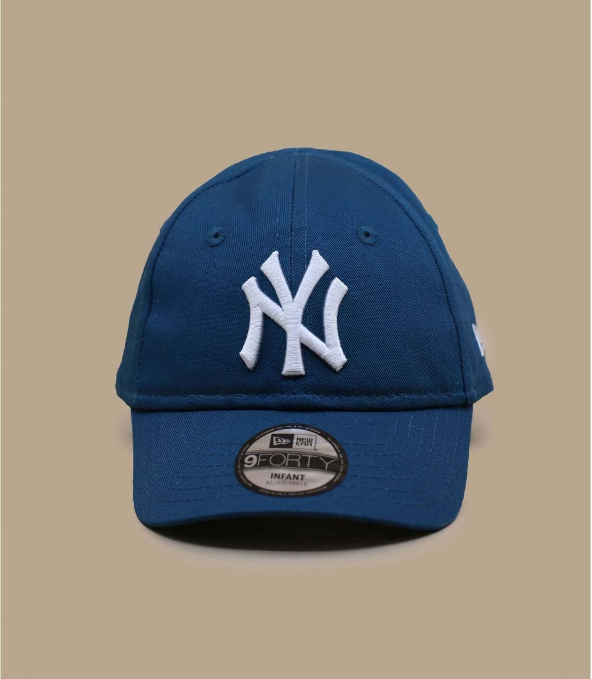 blauwe NY babypet