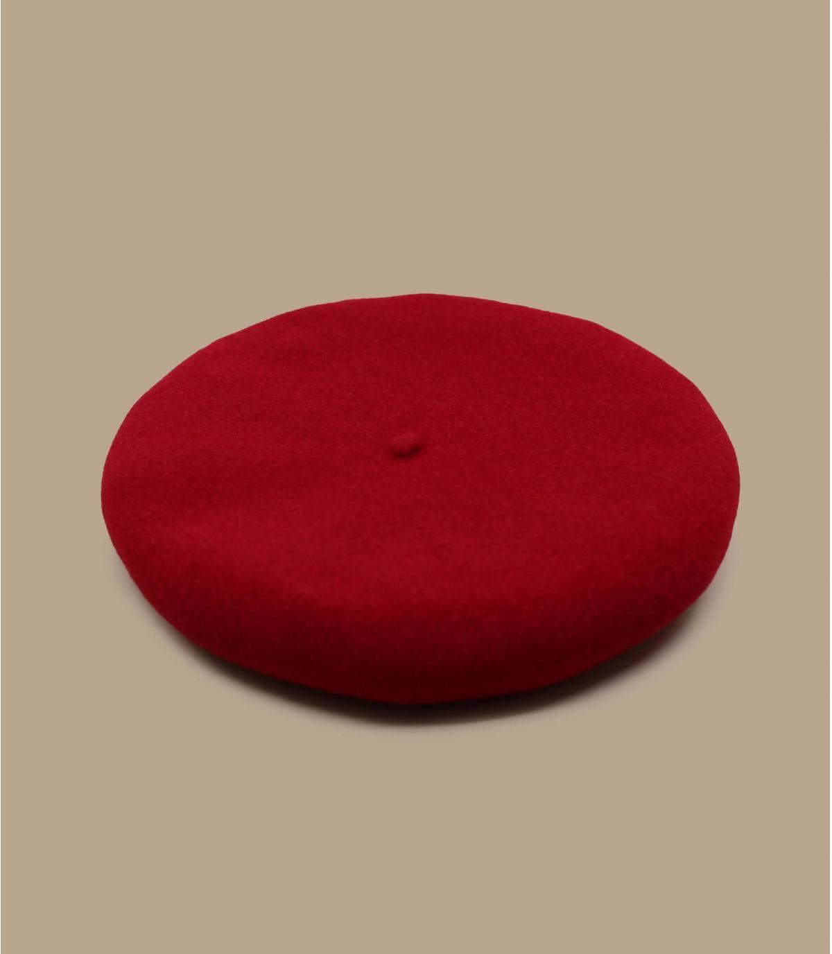 baret van rode wol