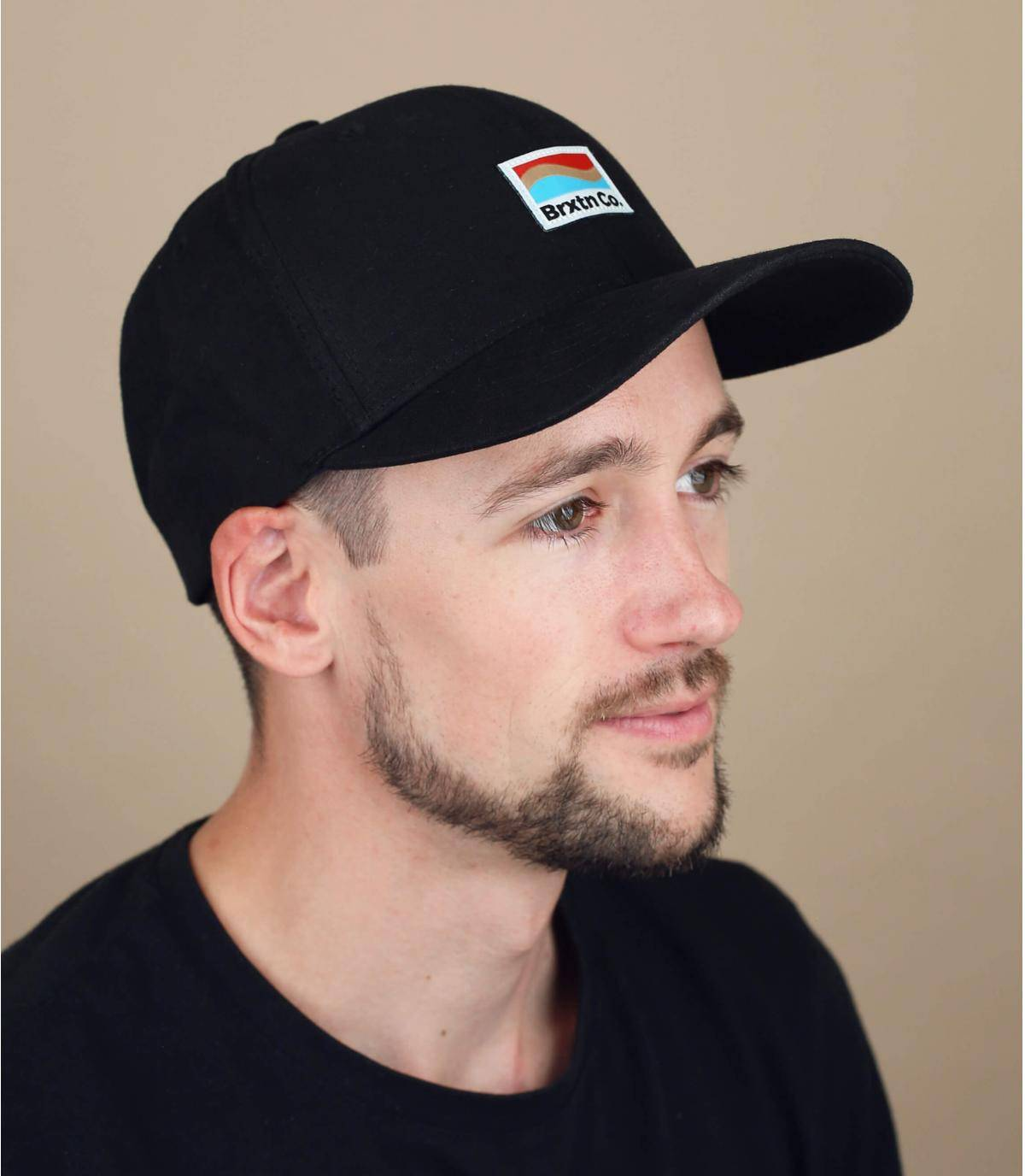 zwarte Brixton cap