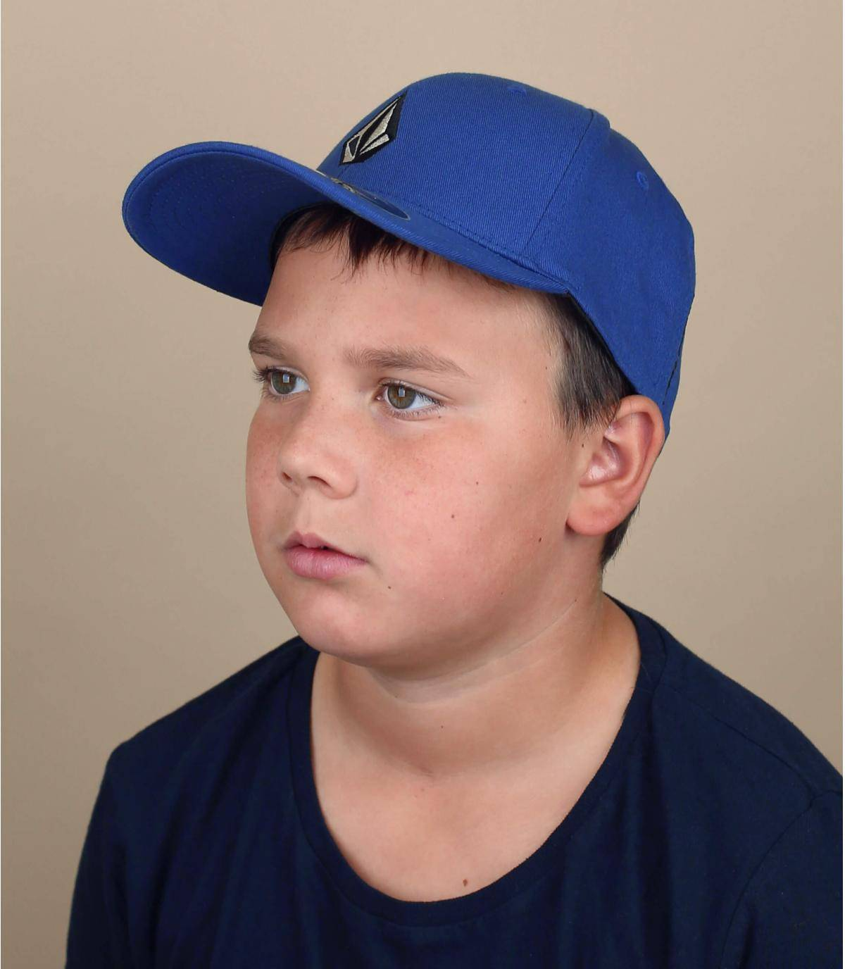 blauwe Volcom kinderpet