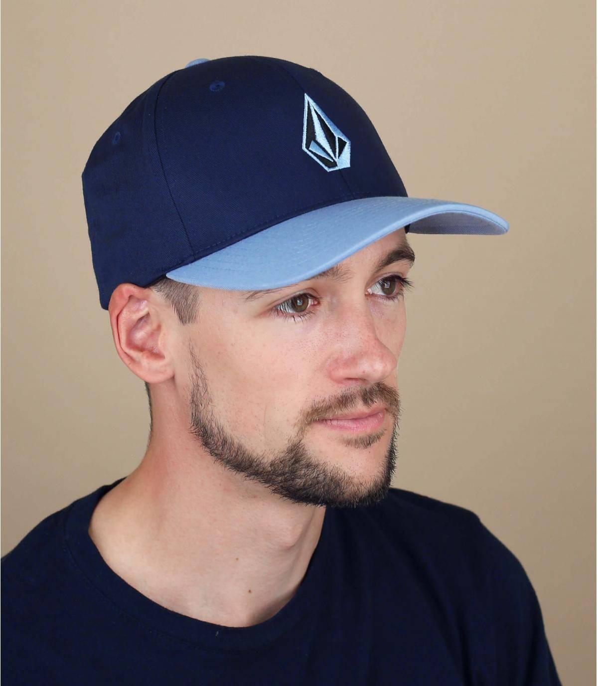 blauwe Volcom cap