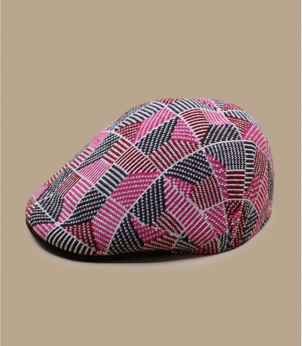 Details 507 Tiled electric pink - afbeeling 2
