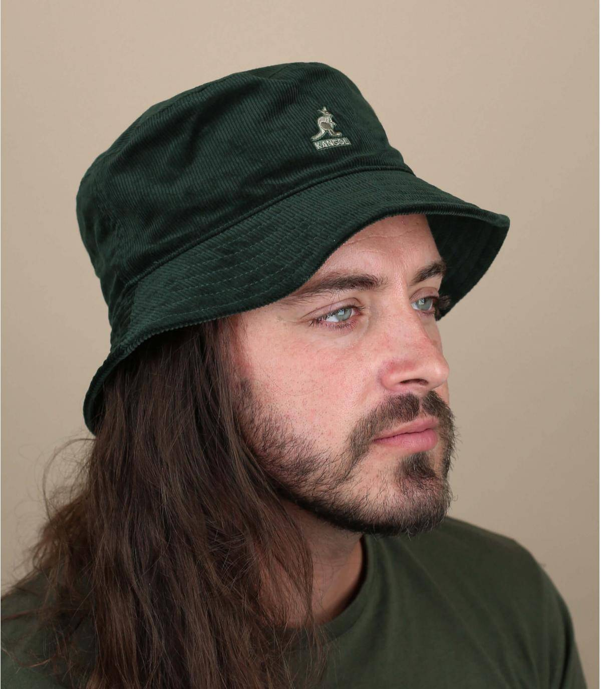 groene fluwelen bob