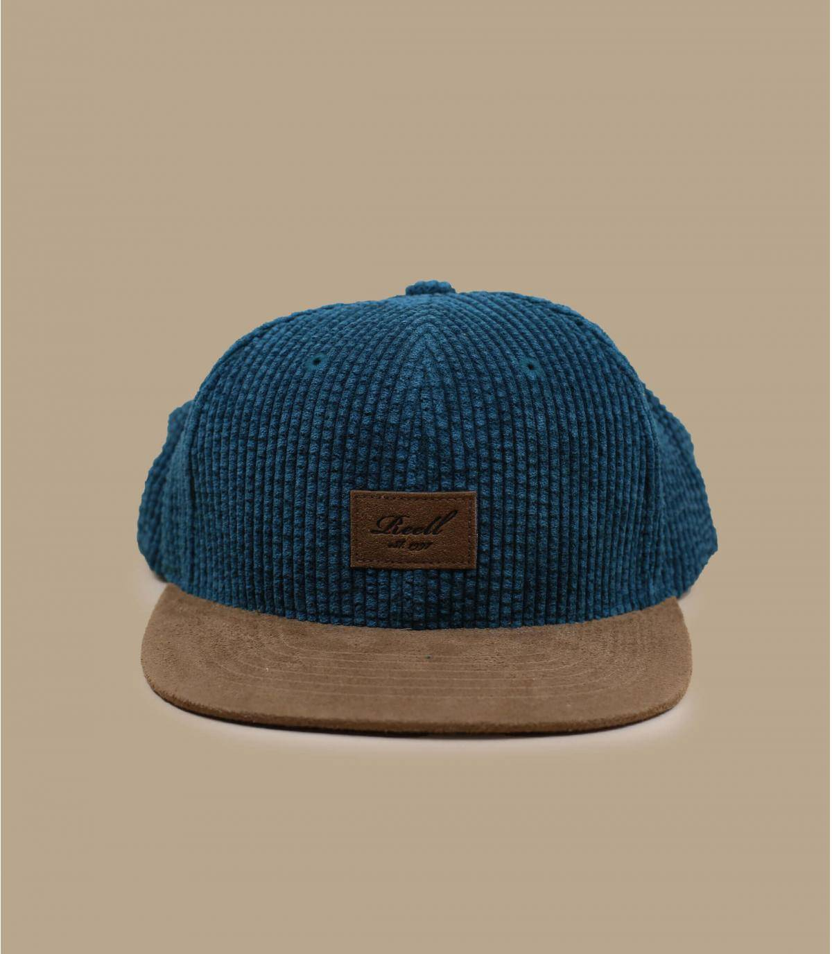 Details Suede Cap Cord forest green - afbeeling 2
