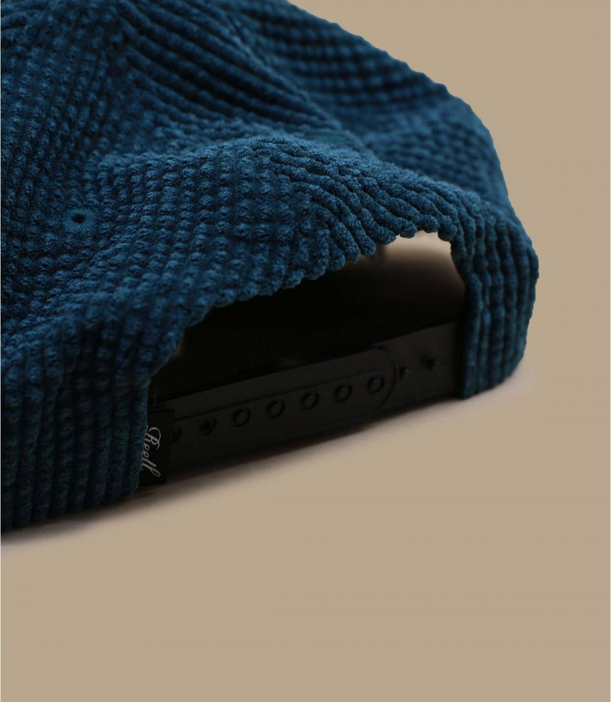 Details Suede Cap Cord forest green - afbeeling 4
