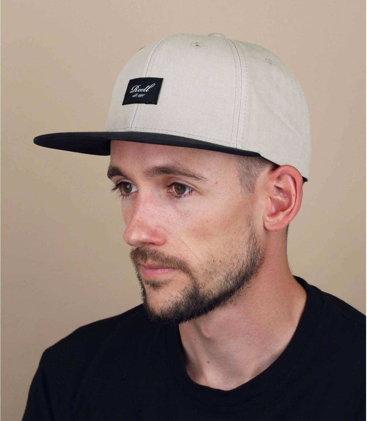 bruine Reell cap