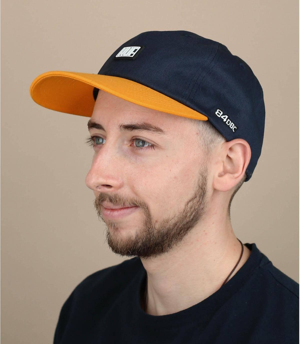 blauw gele Huf cap