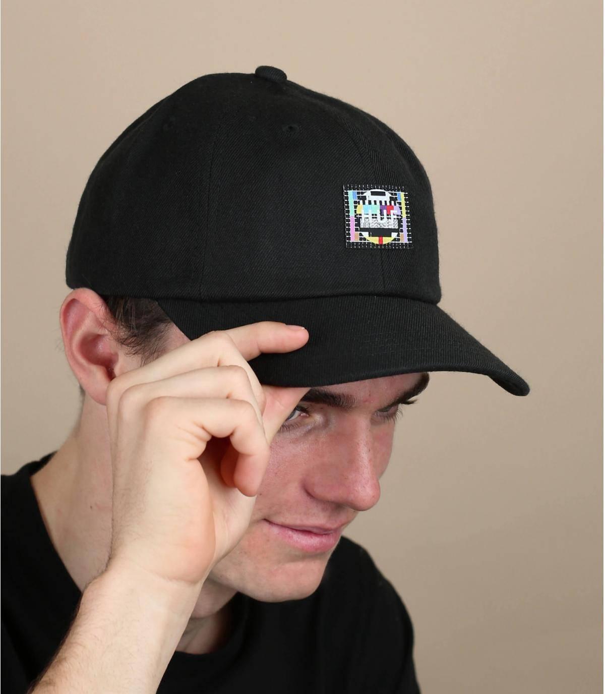 zwarte Huf cap