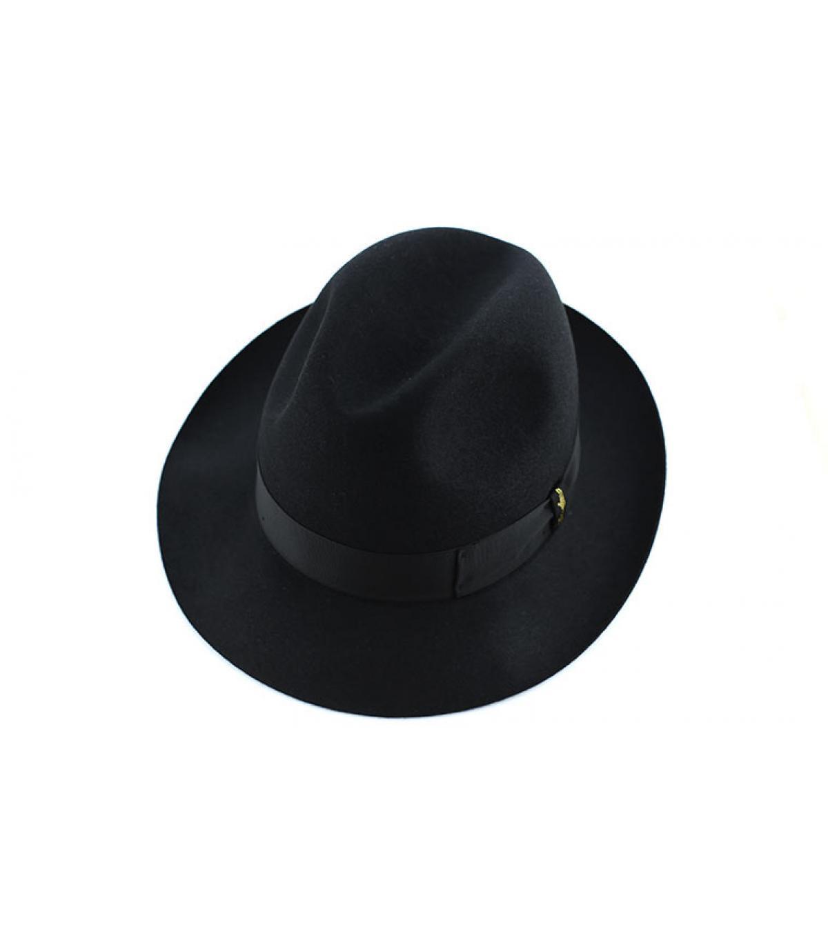 Details Marengo black fur felt hat - afbeeling 3