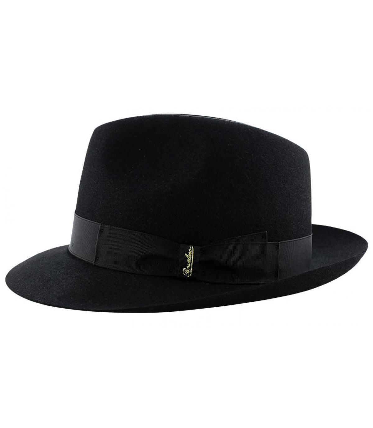 Details Marengo black fur felt hat - afbeeling 4