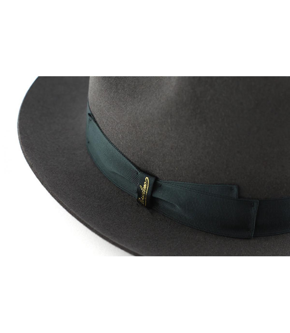 Details Marengo grey fur felt hat - afbeeling 2