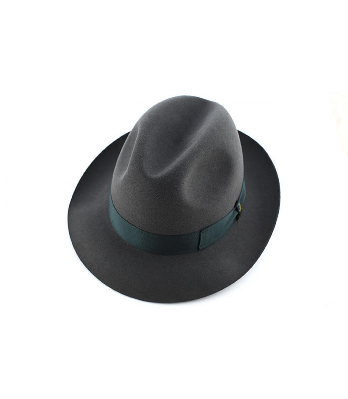 Details Marengo grey fur felt hat - afbeeling 3