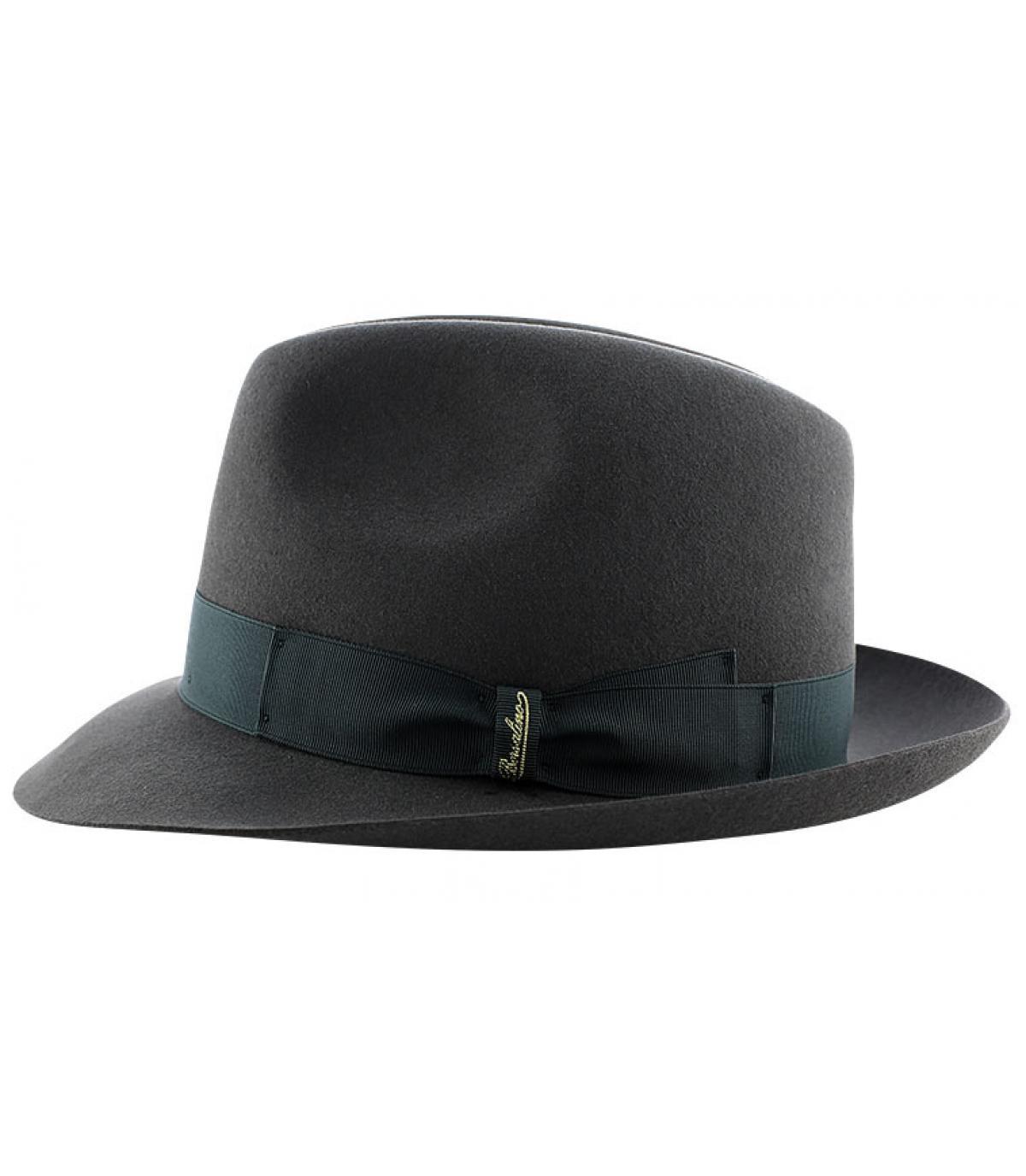 Details Marengo grey fur felt hat - afbeeling 4
