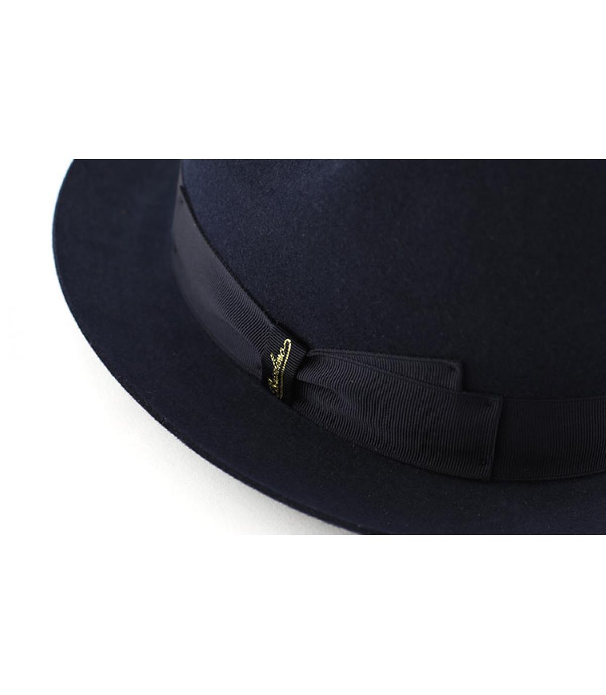 Details Marengo navy fur felt hat - afbeeling 2
