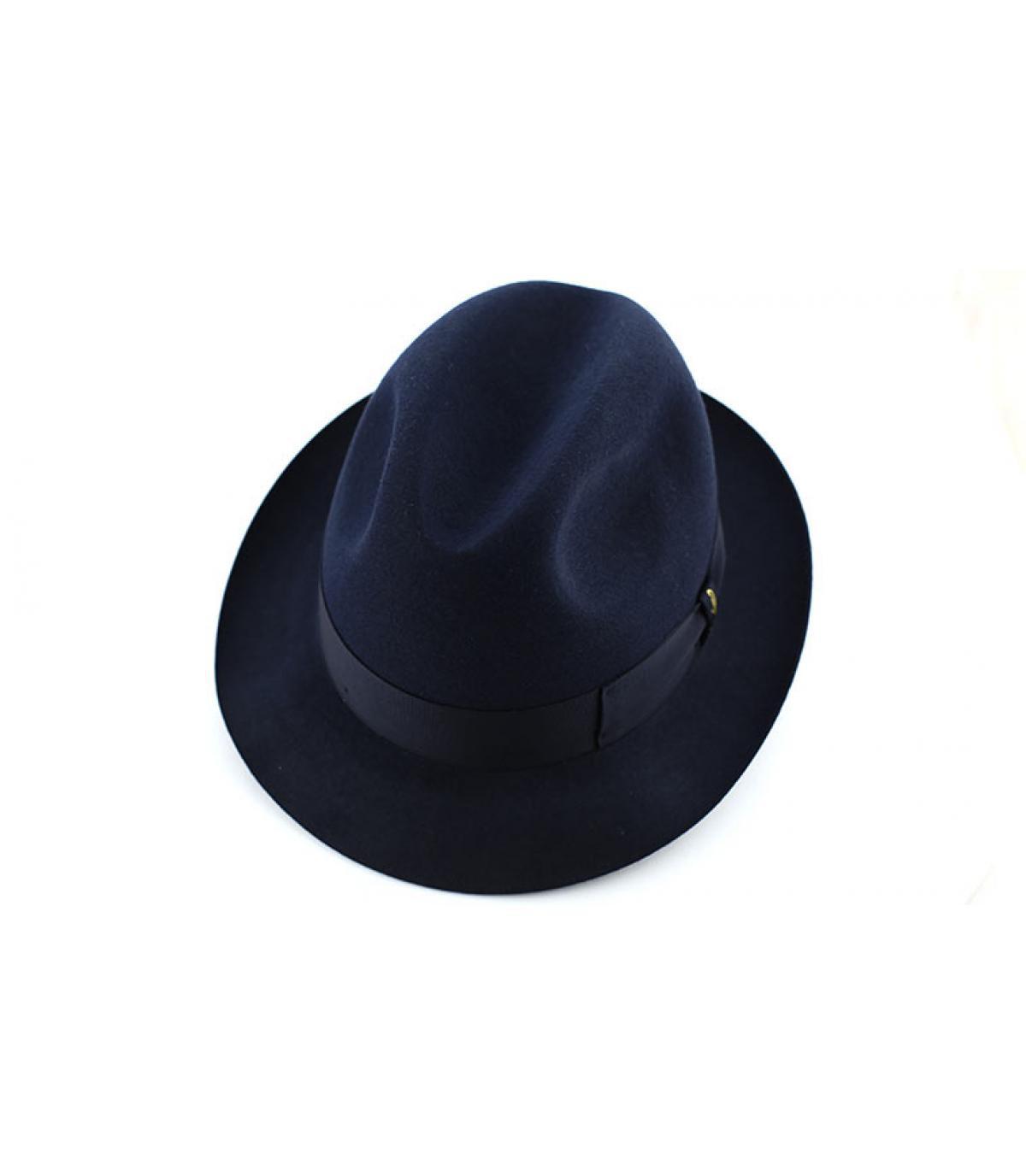 Details Marengo navy fur felt hat - afbeeling 3