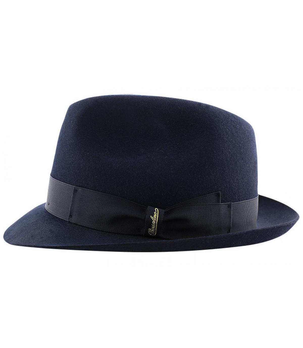 Details Marengo navy fur felt hat - afbeeling 4