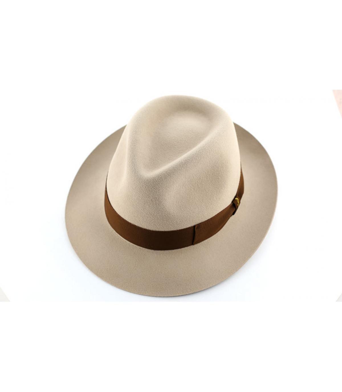 Details Beige fur felt hat - afbeeling 3