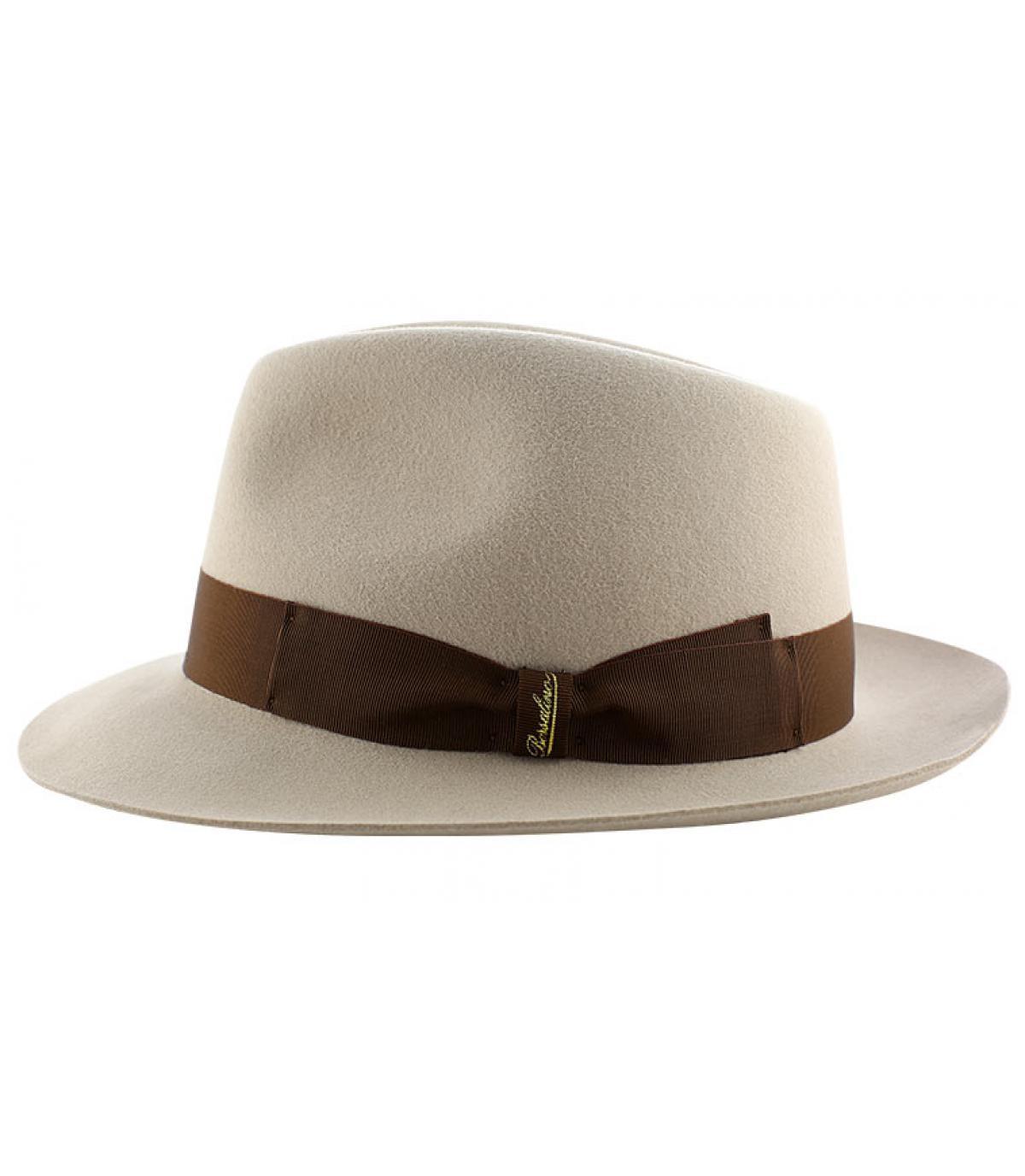 Details Beige fur felt hat - afbeeling 4