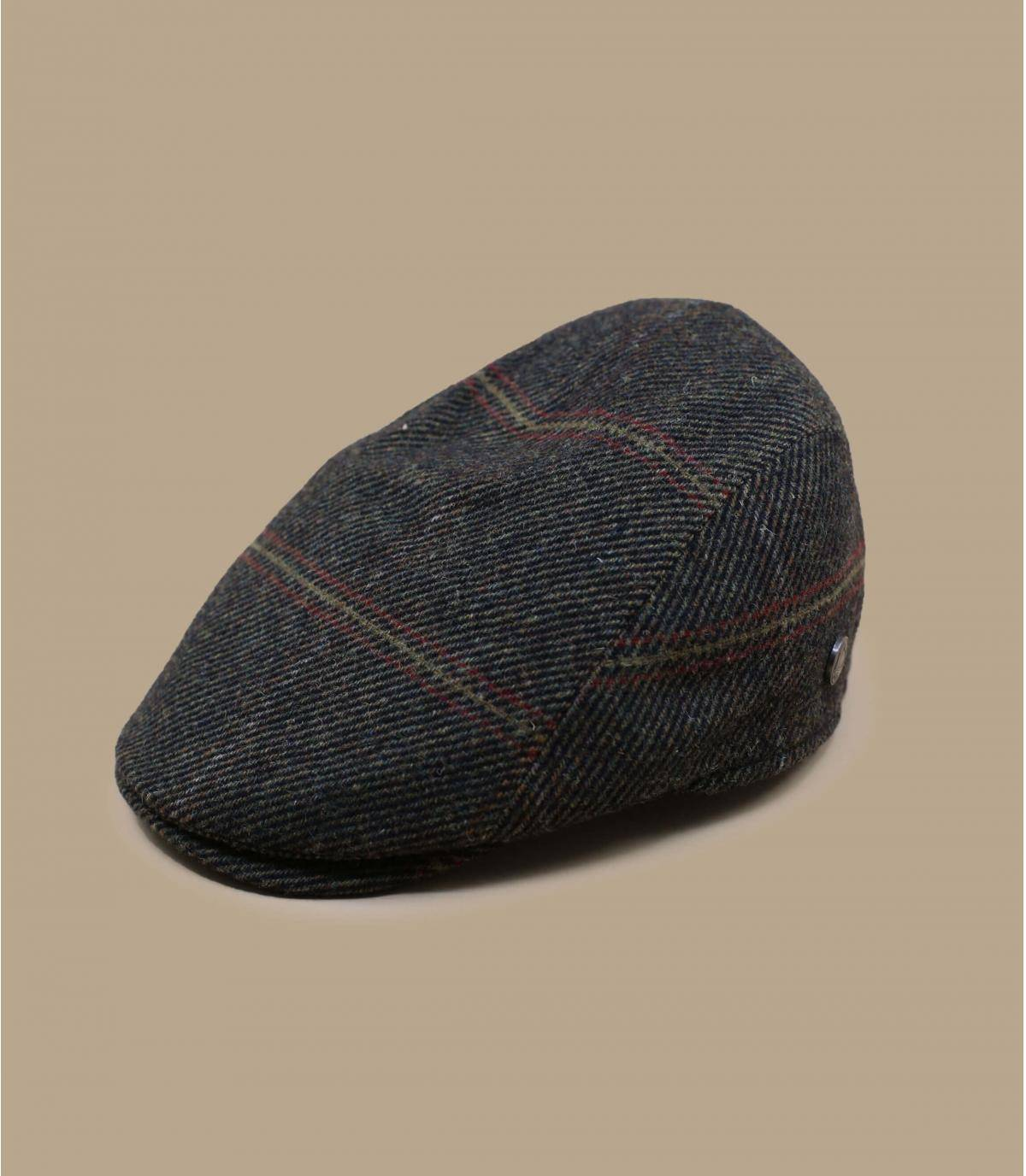 baret van groene wol