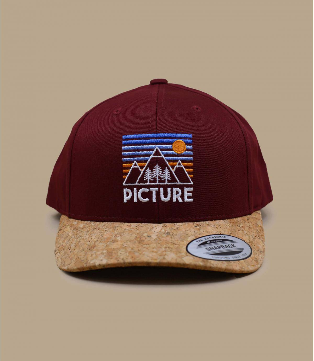 rode Picture cap
