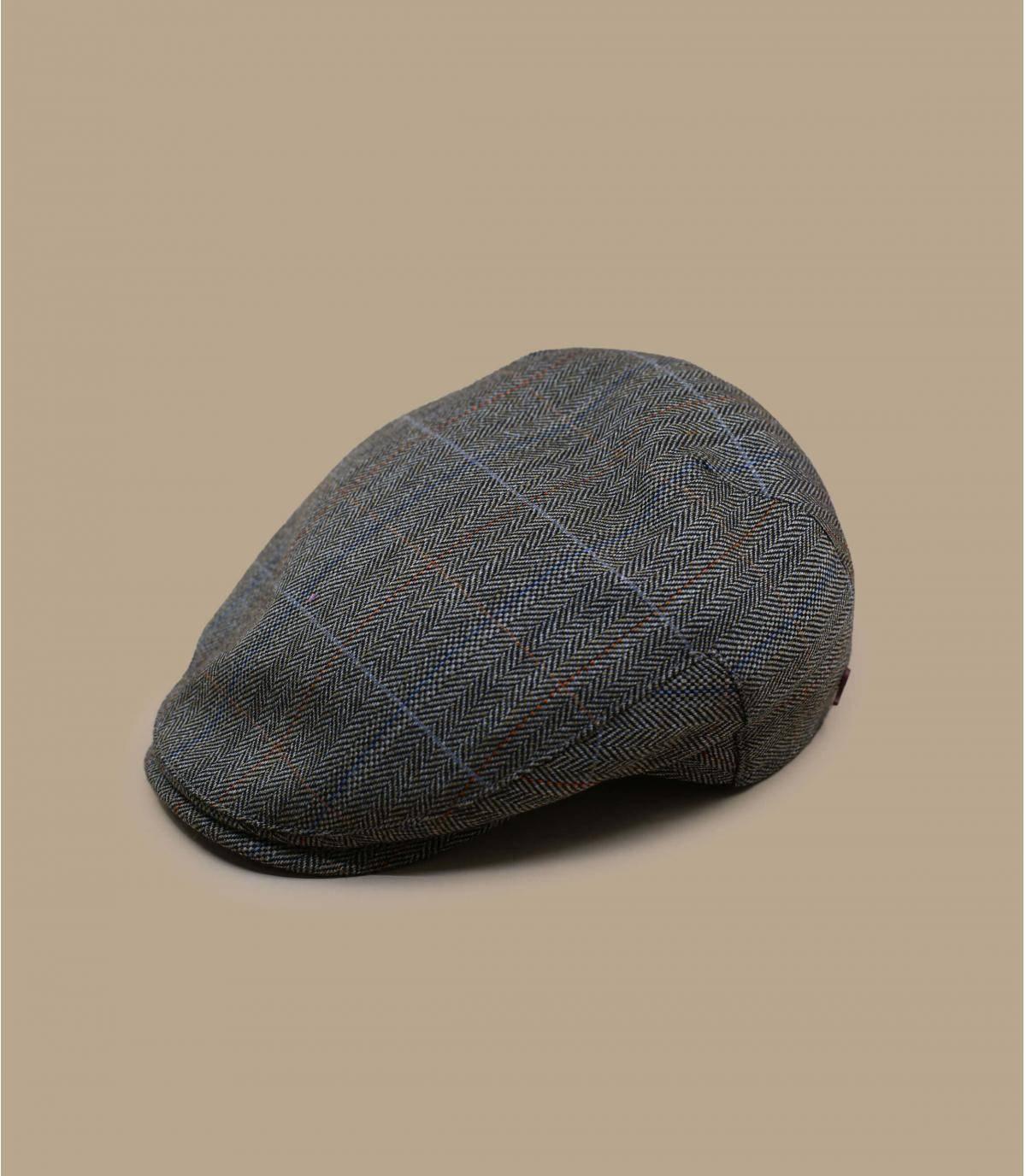 baret van visgraatwol