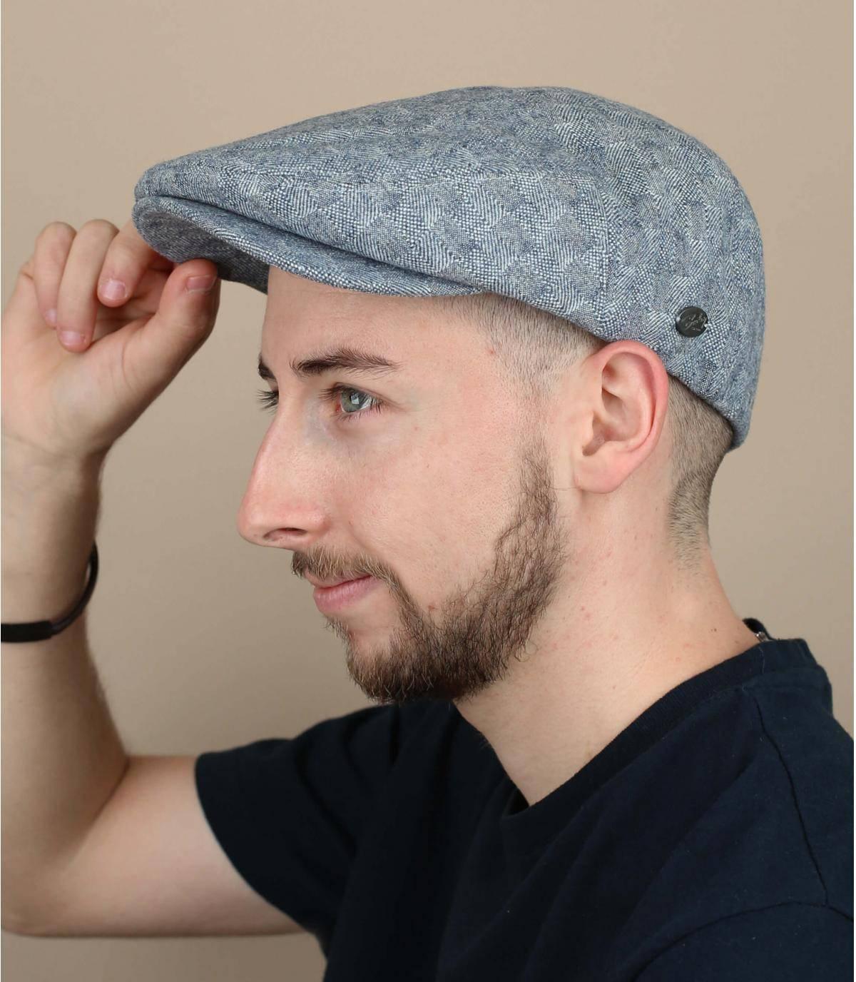 marineblauwe baret