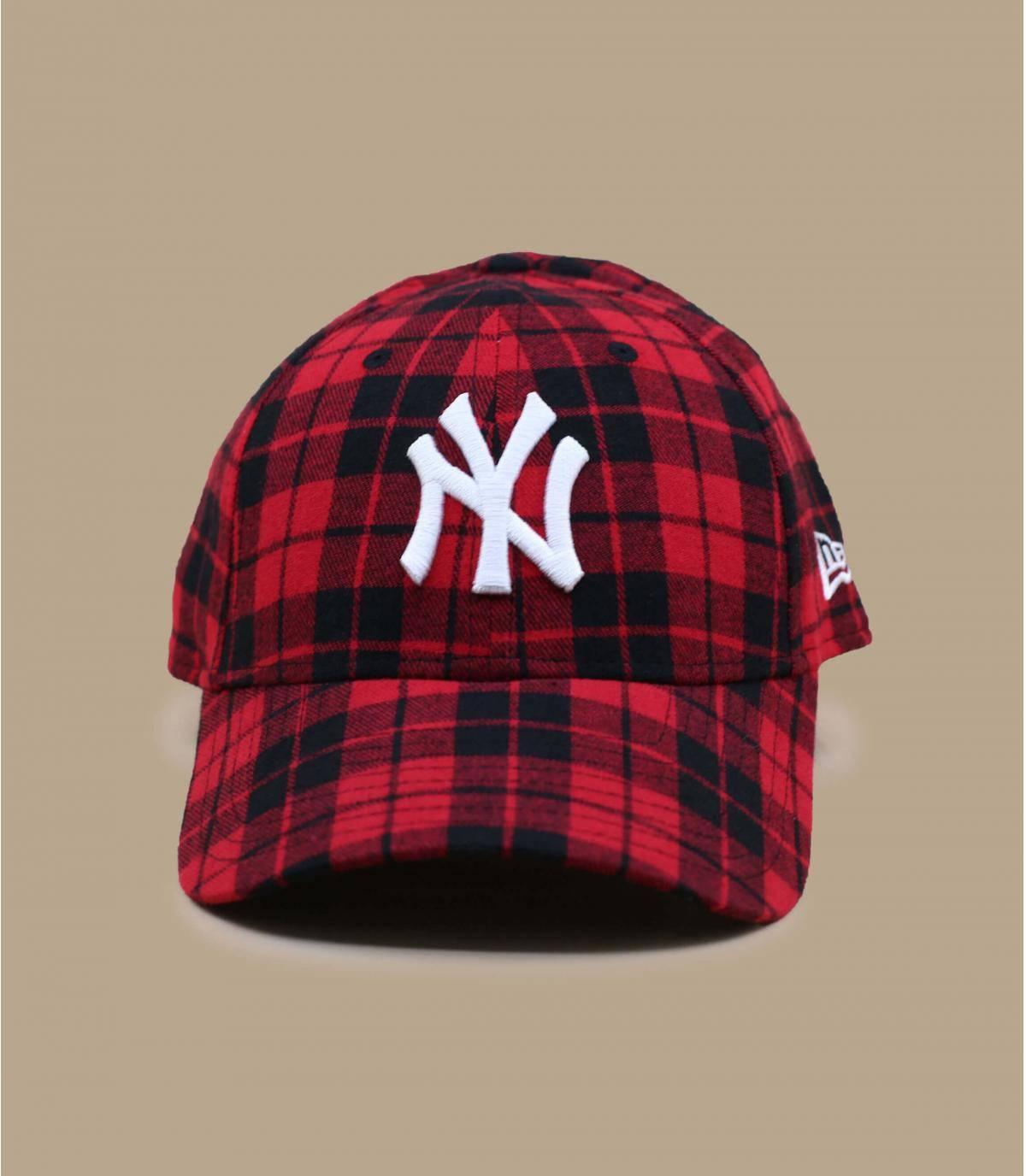 NY geruite cap