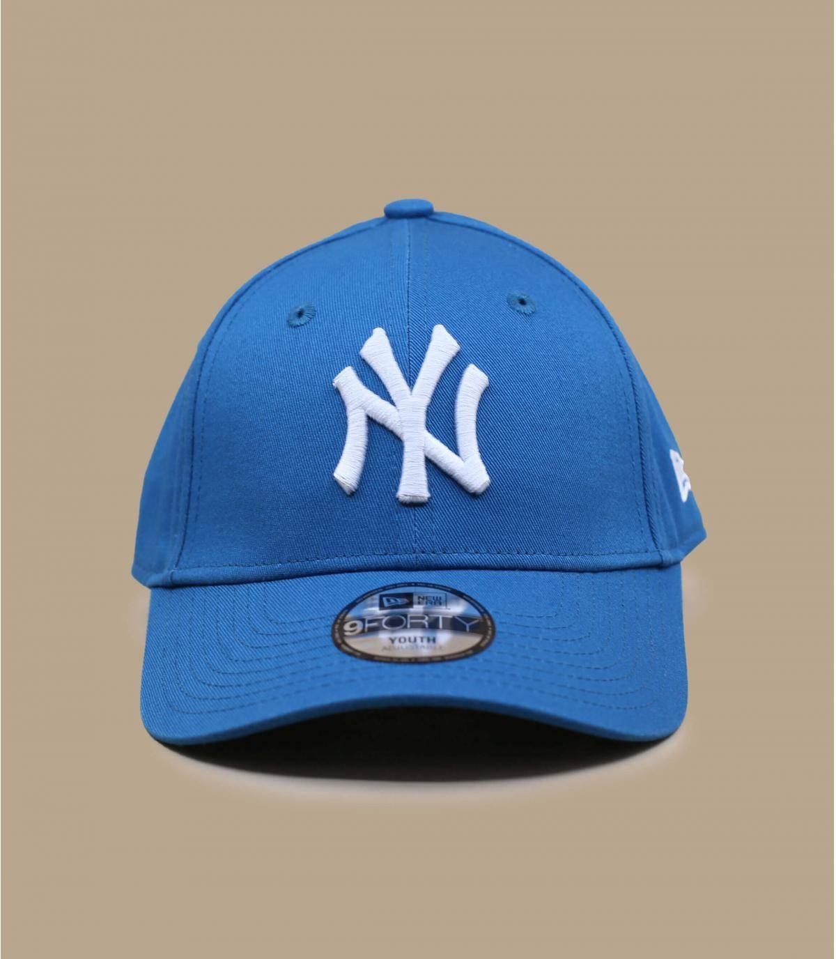 NY blauwe kinderpet