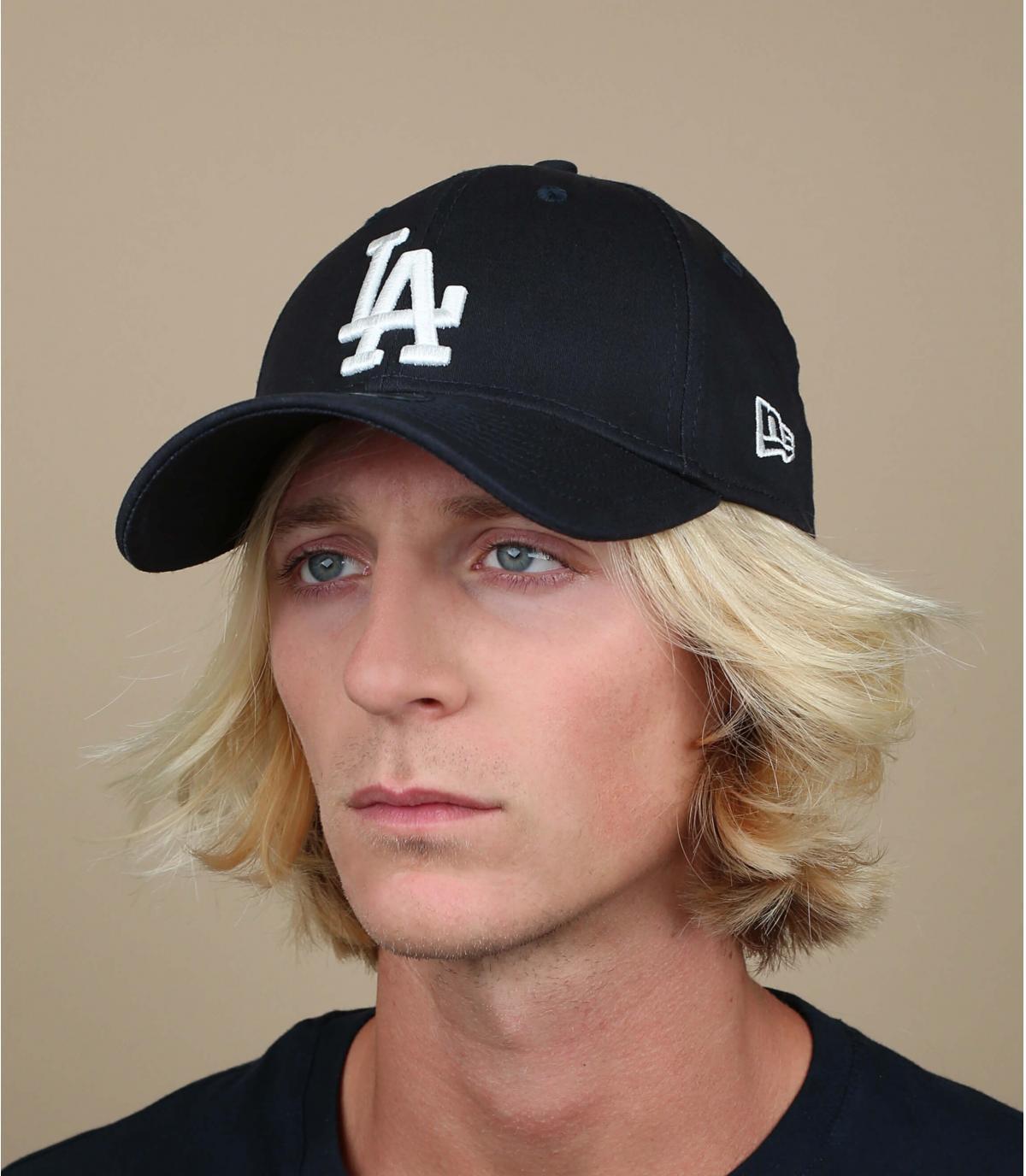 Blauw LA trucker cap