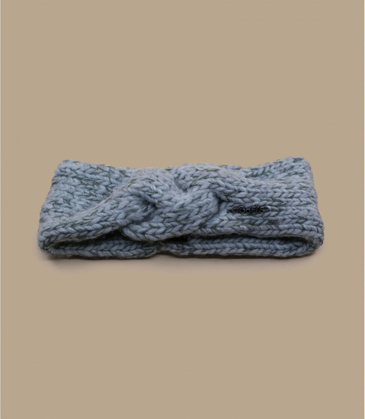 grijs gevlochten hoofdband meisje