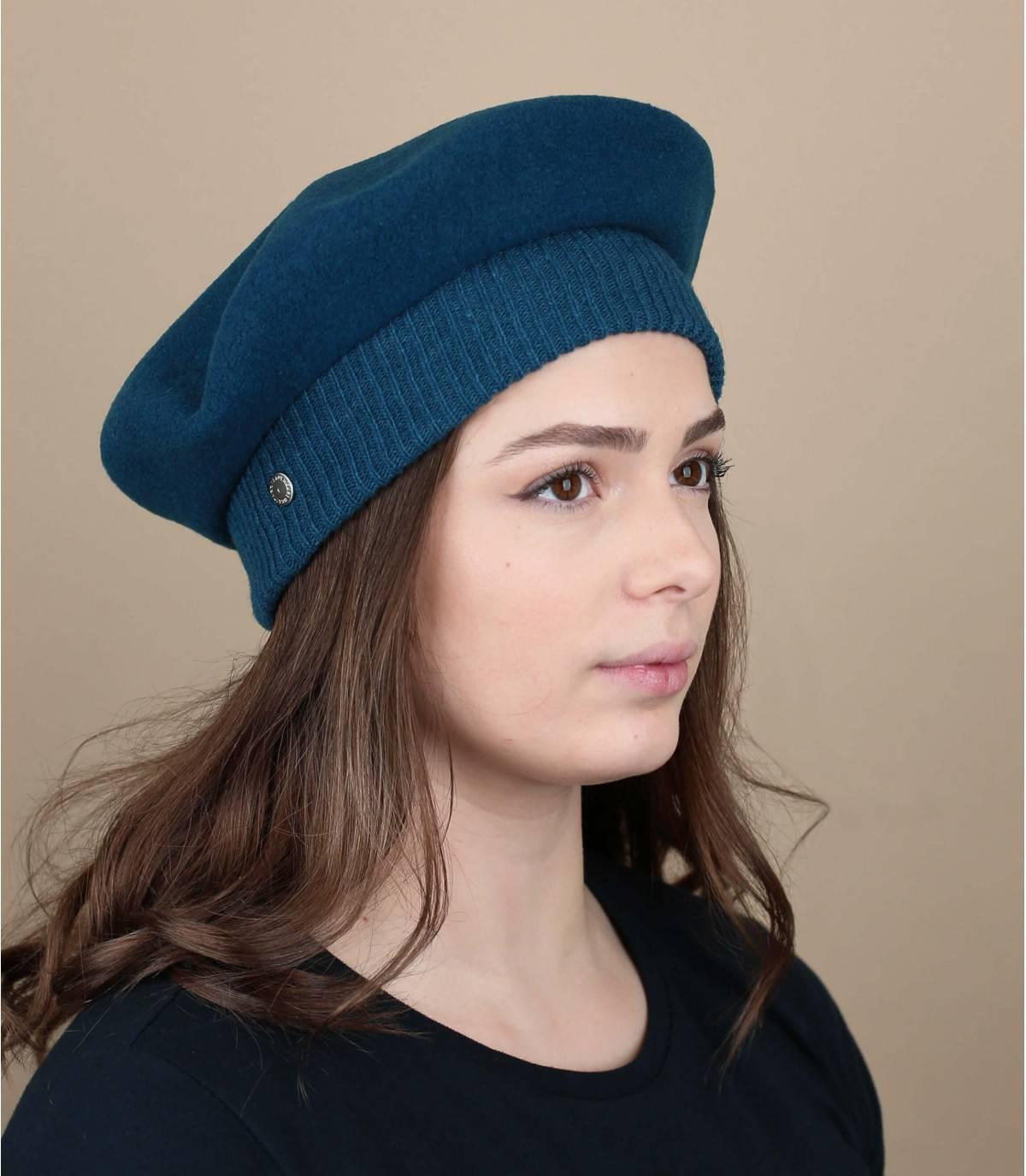 Blauwe Laulhère baret