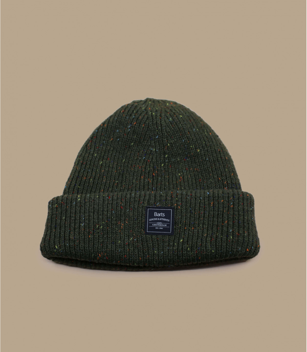 kaki omkeerbare hoed Barts