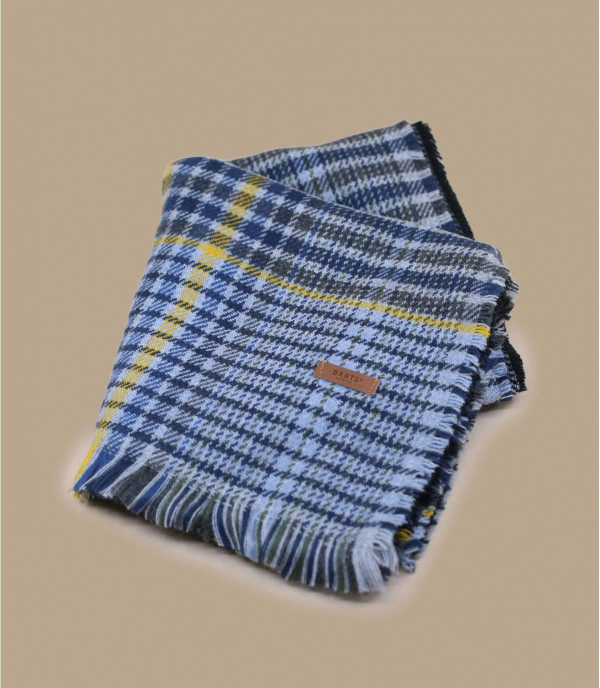 tweekleurige grijze sjaal
