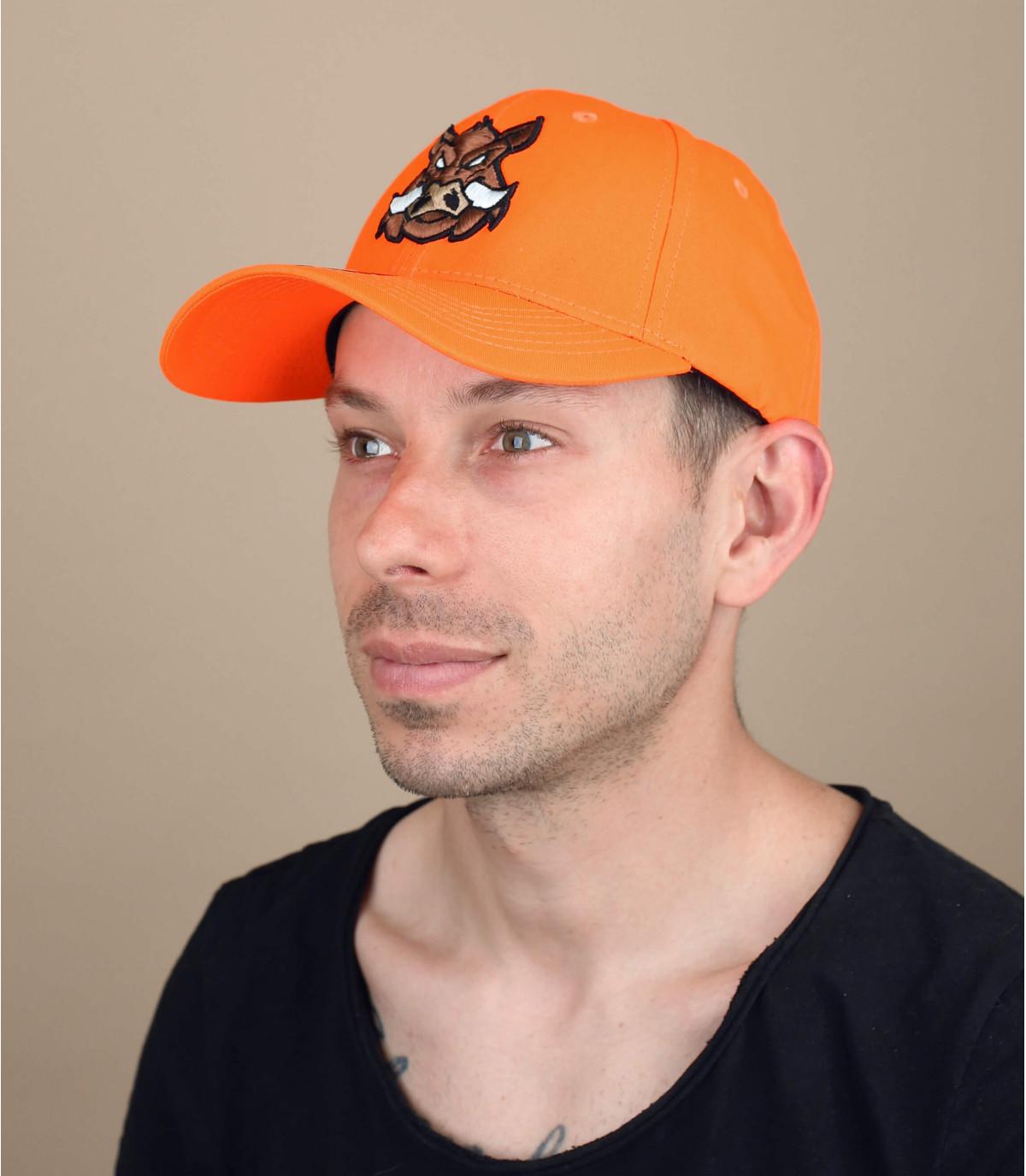 oranje zwijn jacht cap