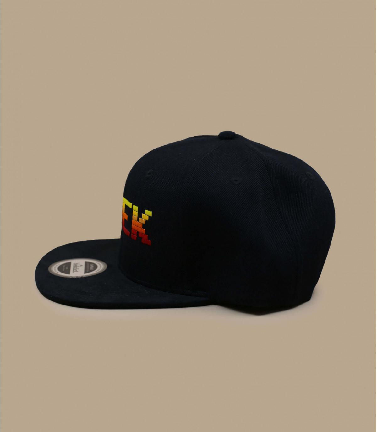 zwarte Geek snapback - Snapback Geek op je headwear shop Headict df802cfaad2