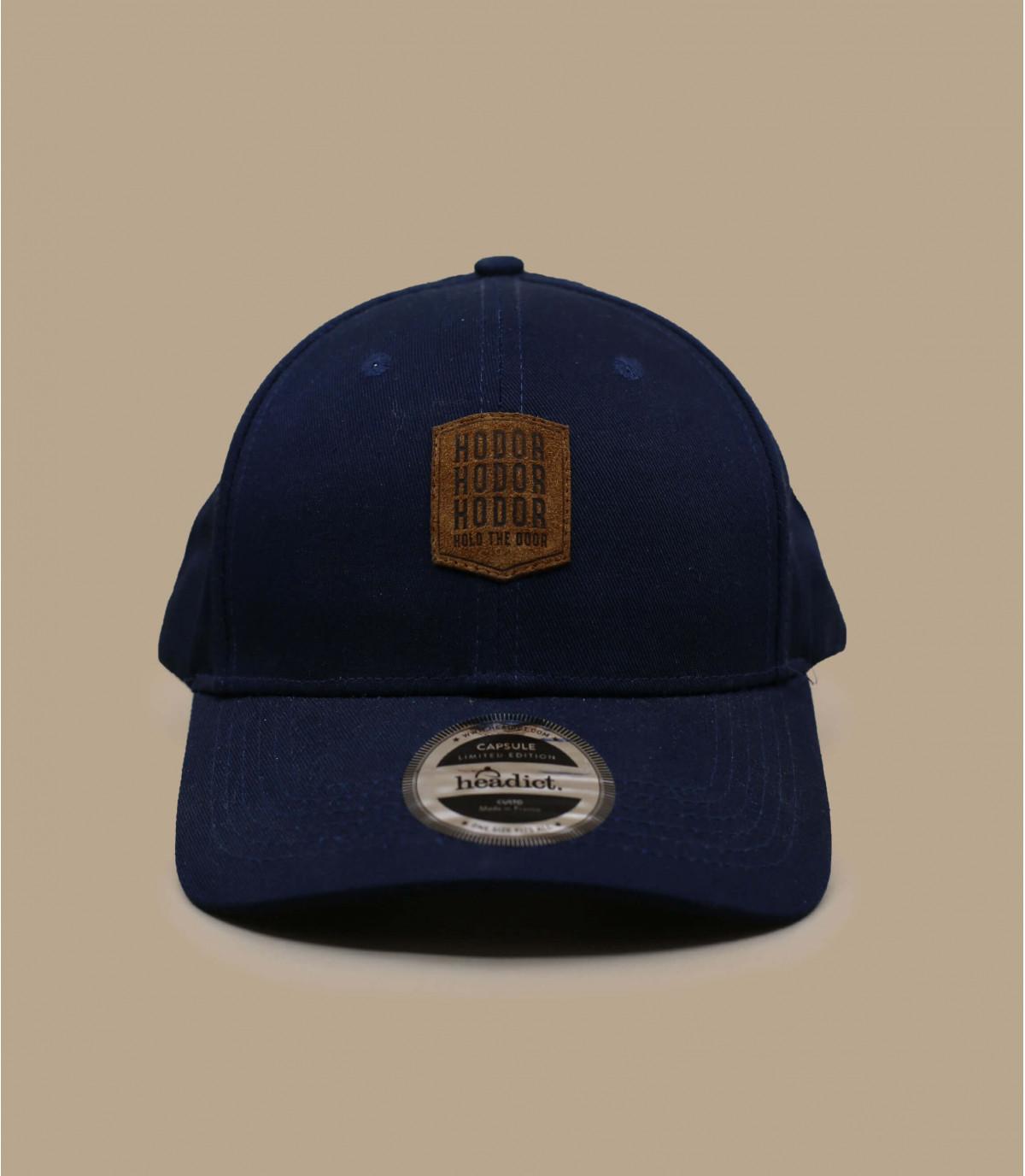 cap blue curve Hodor