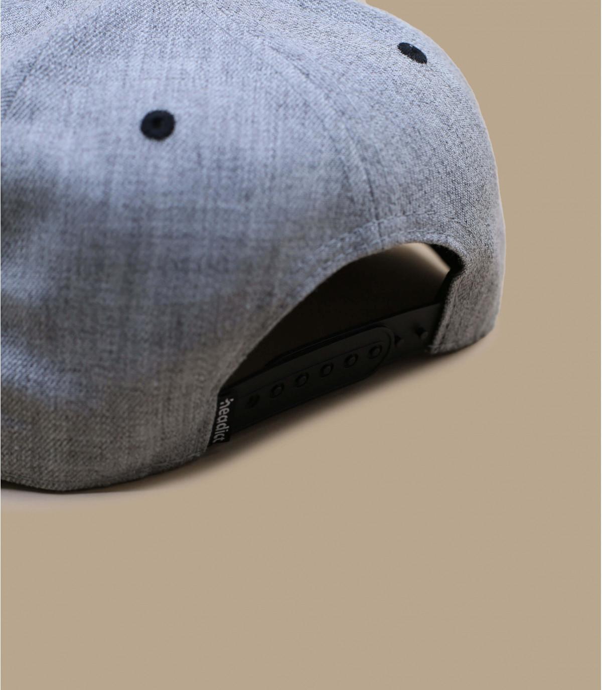 Details Snapback Cloned To Kill grey black - afbeeling 4