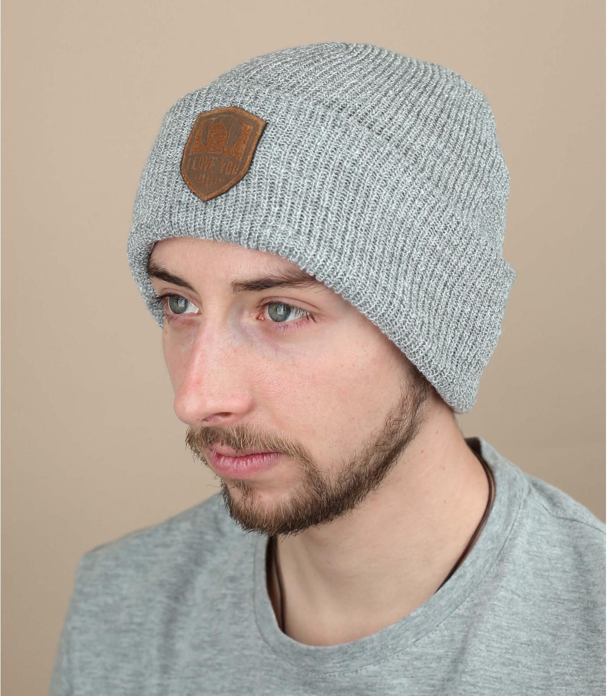 prinses hoed Ik hou van je grijs