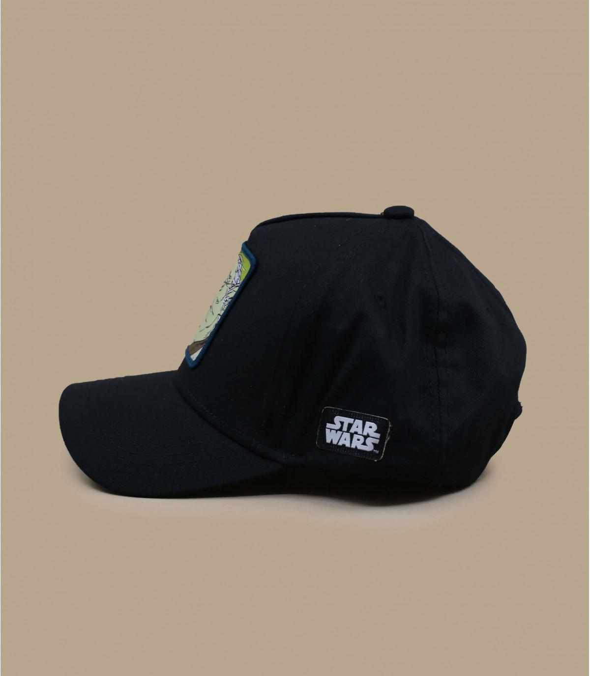 zwarte Yoda trucker