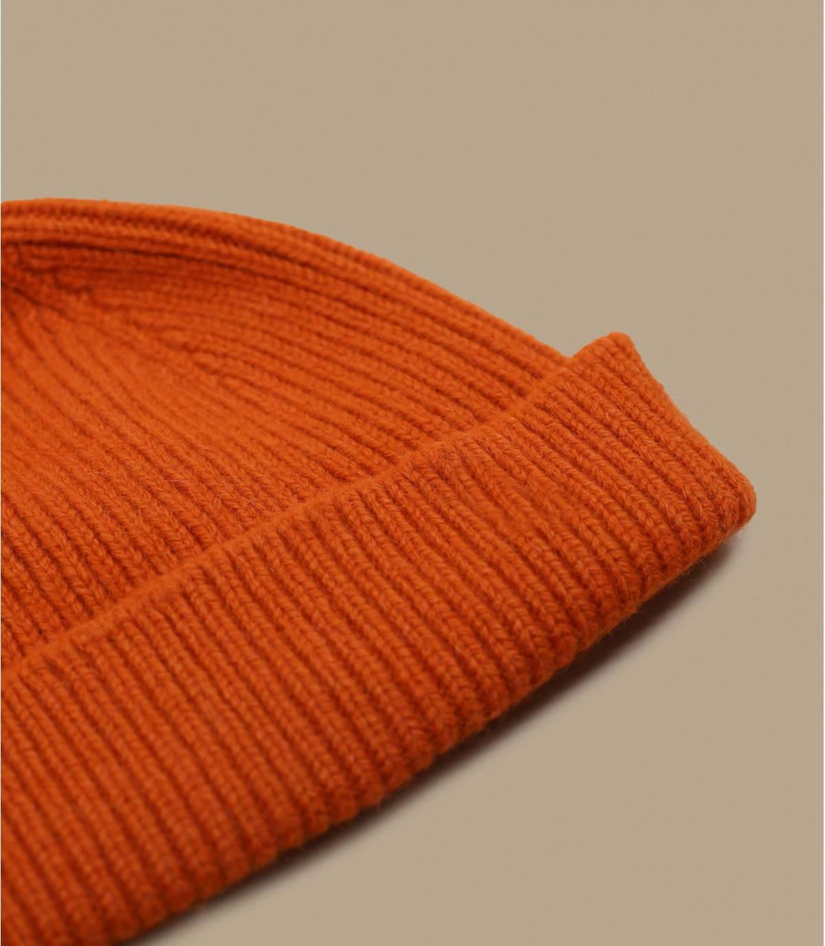oranje dokwerker hoed angora wol