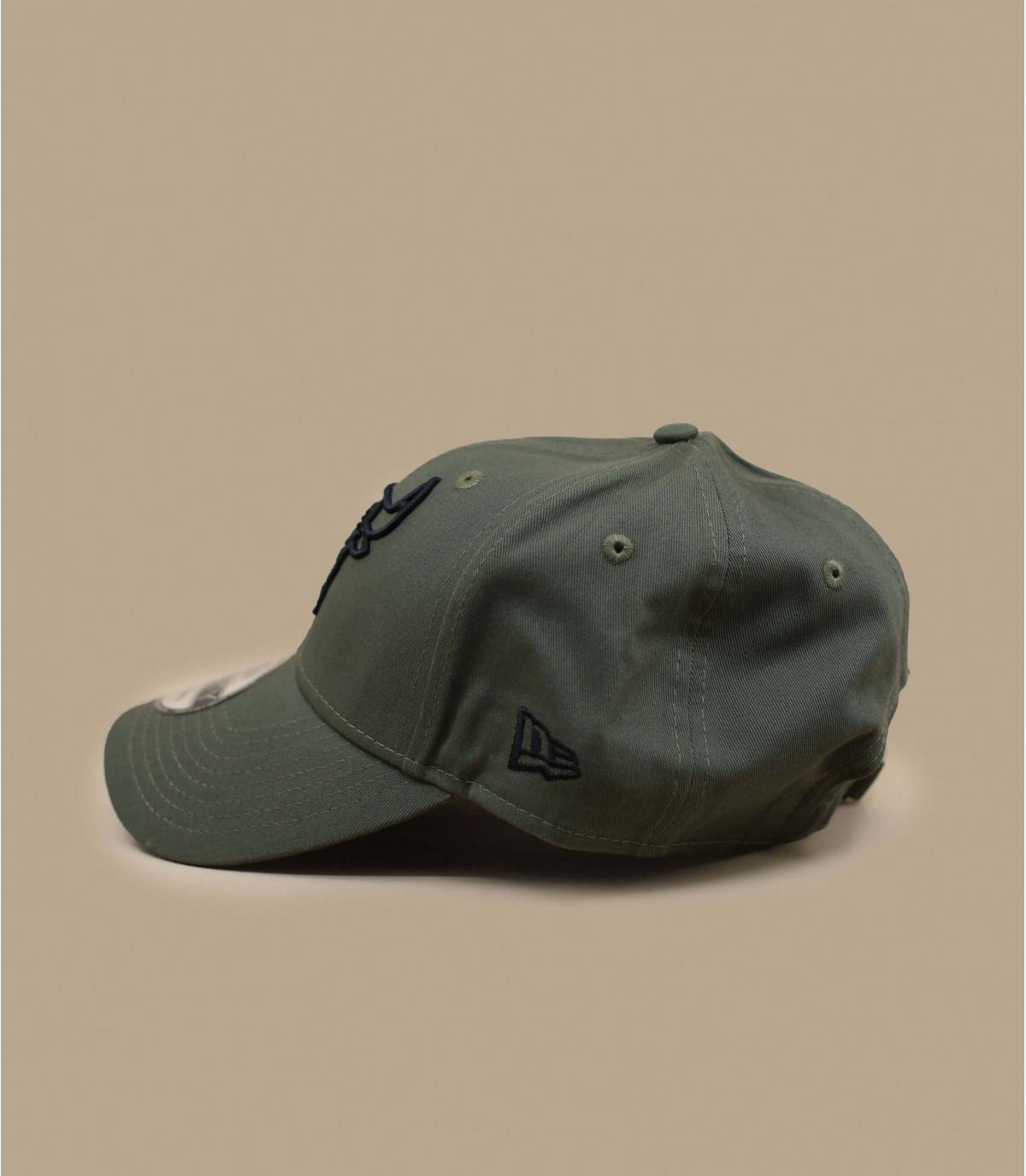 olijfgroene bulls cap