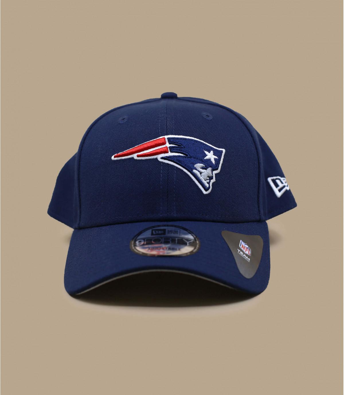 De patriotten gebogen vizier cap
