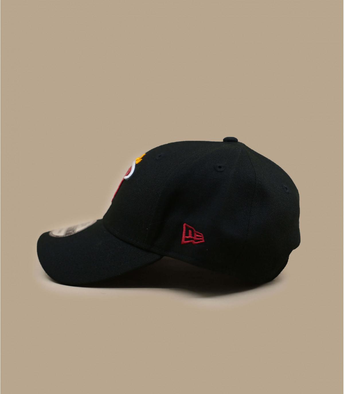 NBA Heatcap zwart
